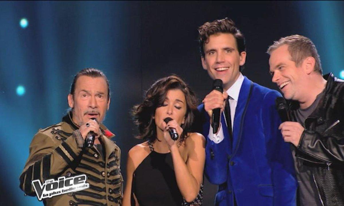 Garou & Mika & Florent Pagny & Jenifer - Bohemian Rhapsody  (Queen) (saison 03)