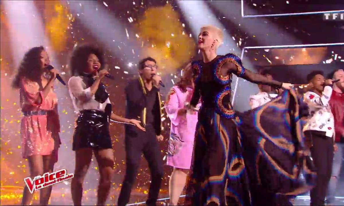 Katy Perry et les Talents – « Chained to The Rhythm » (Katy Perry) (Direct 3 – Saison 6)