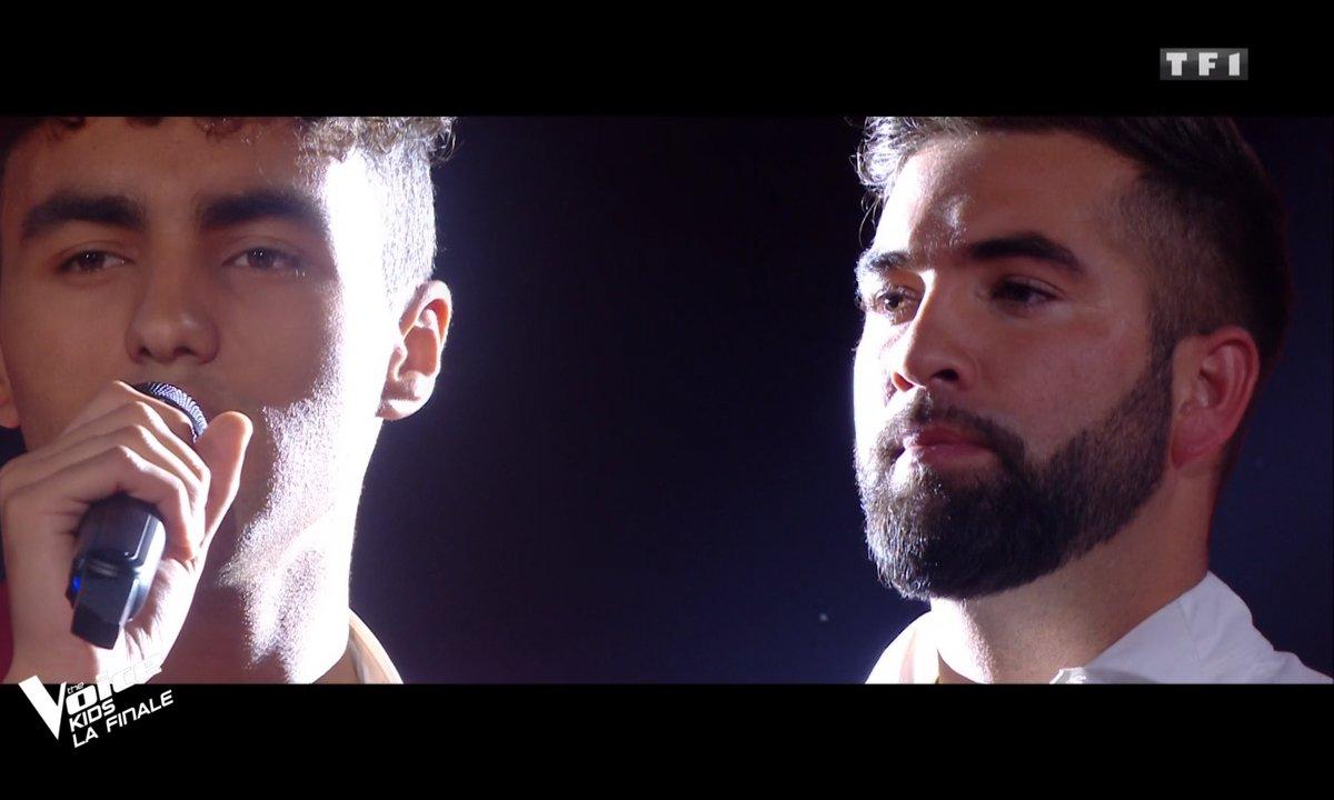 "The Voice Kids 2020 - Finale - Abdellah & Kendji chantent ""Bella Ciao"" de Maître Gims"