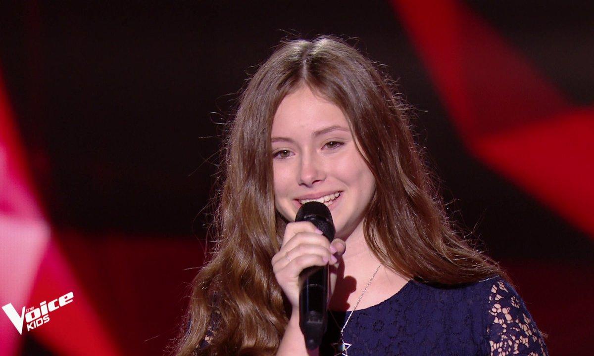 The Voice Kids - Amélie chante « Stone cold » de Demi Lovato