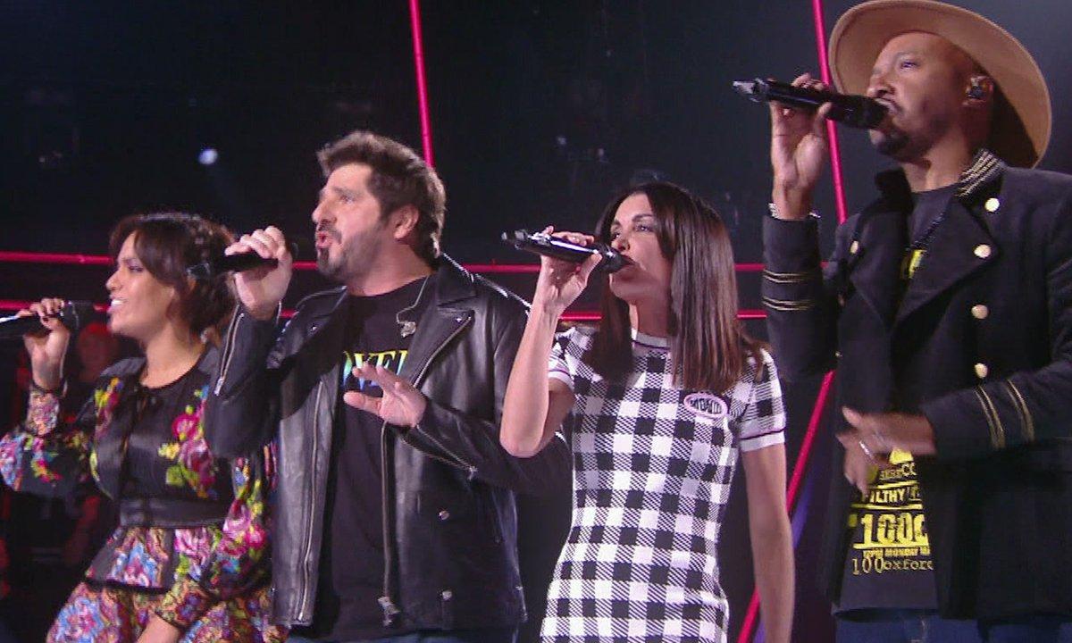 The Voice Kids – Collégiale : Amel Bent, Jenifer, Patrick Fiori et Soprano ont « l'œil du tigre » !