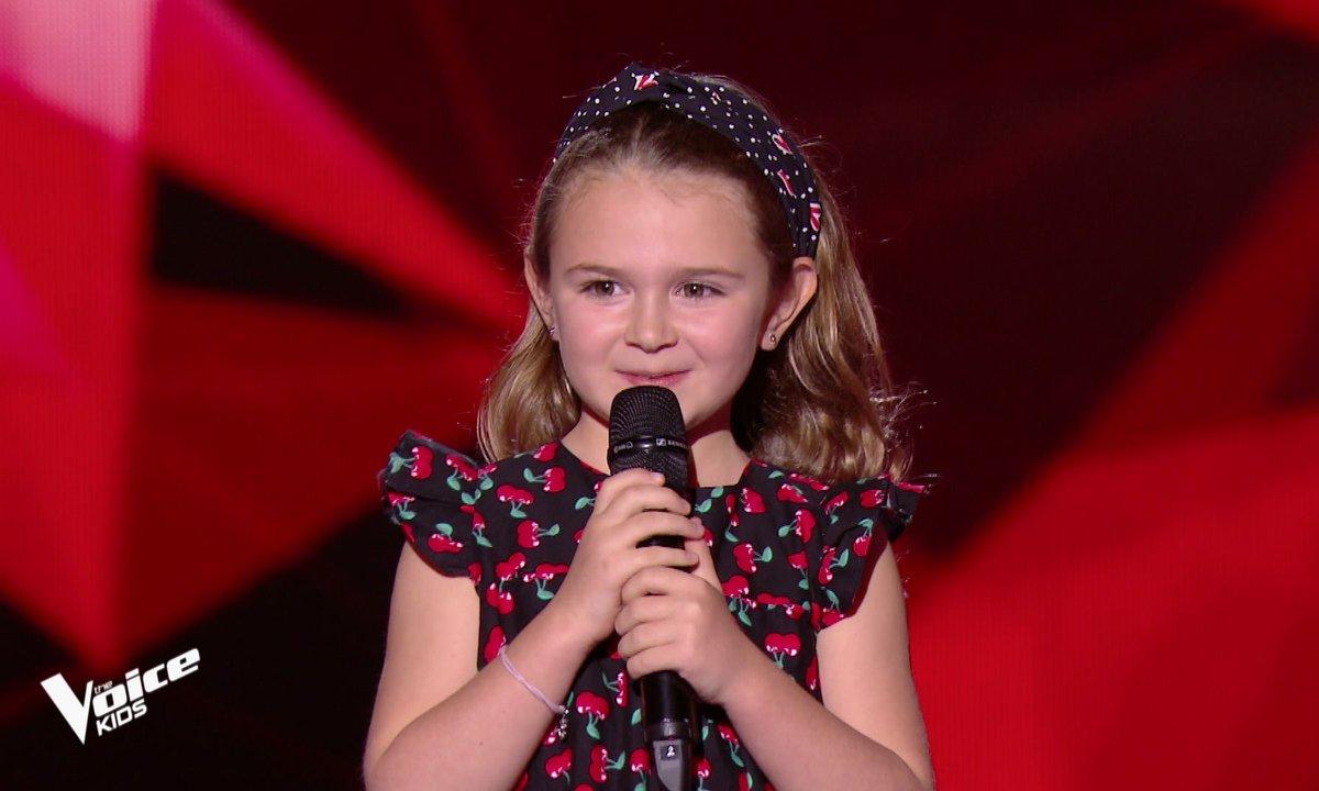 The Voice Kids - Maëline chante « Cœurdonnier » de Soprano