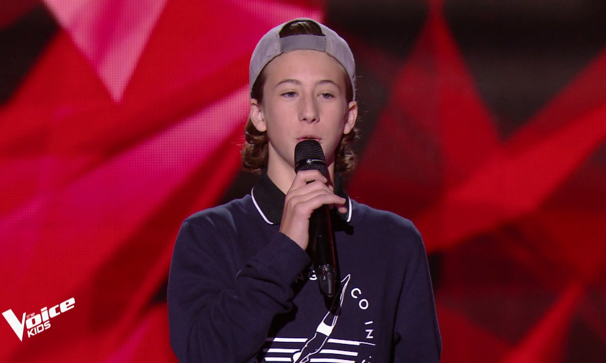 The Voice Kids - Esteban chante « N**** les clones » de Nekfeu