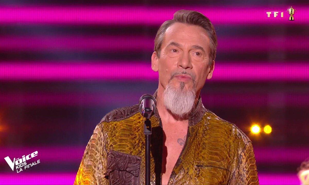 The Voice Kids : Florent Pagny chante son titre « Si une chanson »