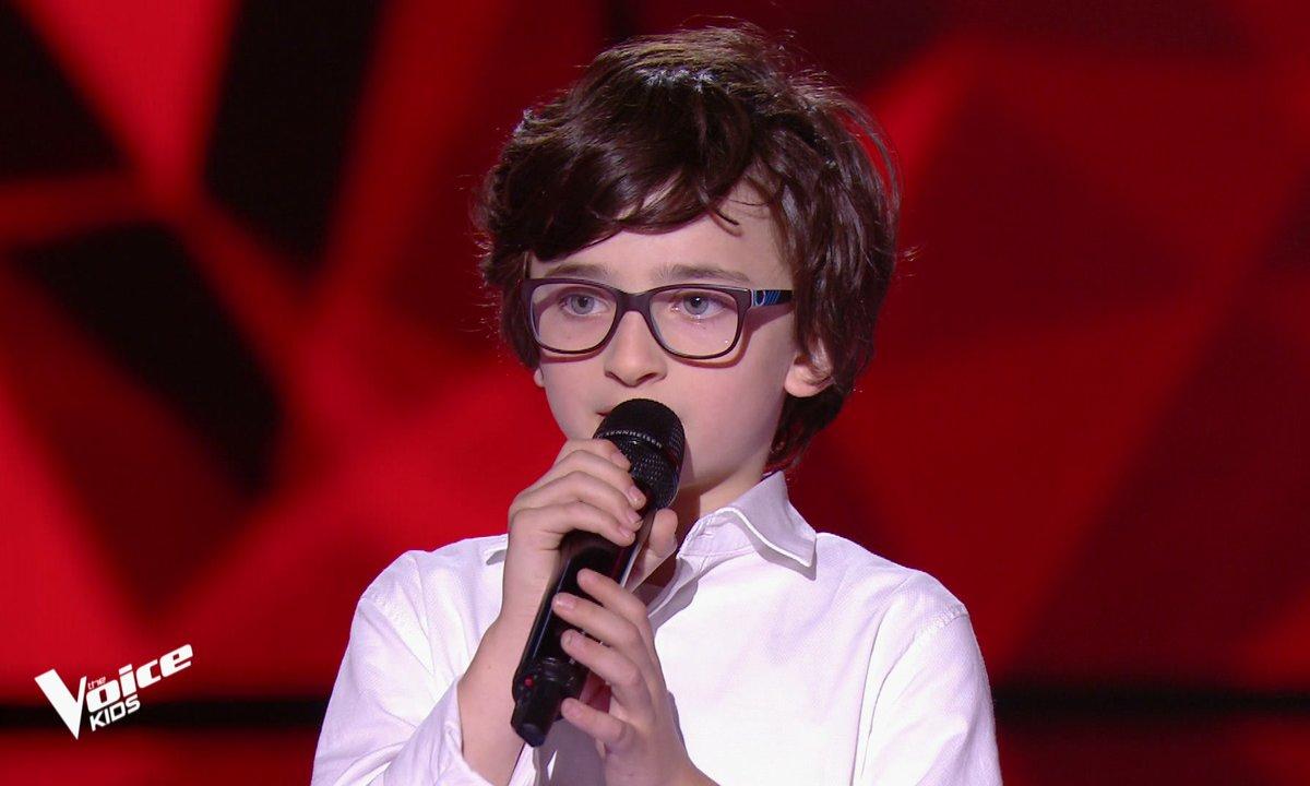 The Voice Kids - Gaspard chante « Gottingen » de Barbara