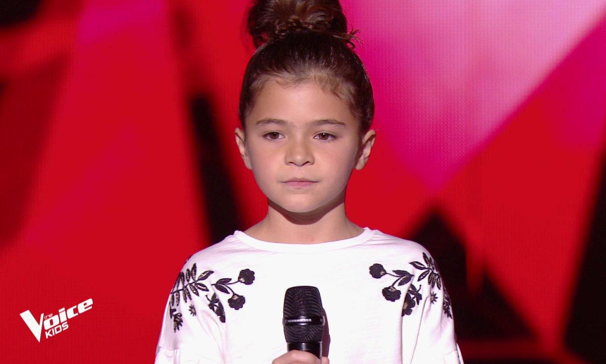 The Voice Kids - Matilda chante « Mercy » de Madame Monsieur