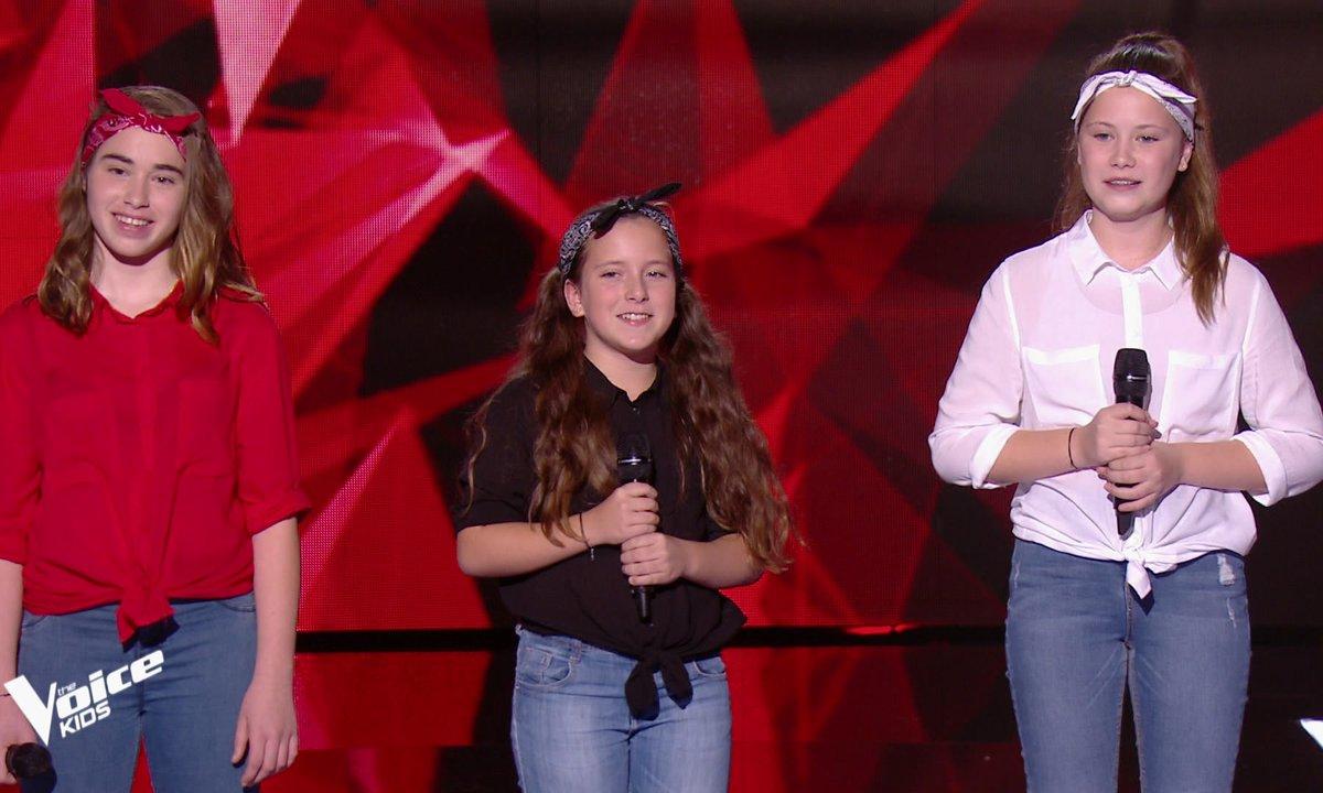 The Voice Kids – Les Mini Div chantent « It's raining men » des Weather Girls
