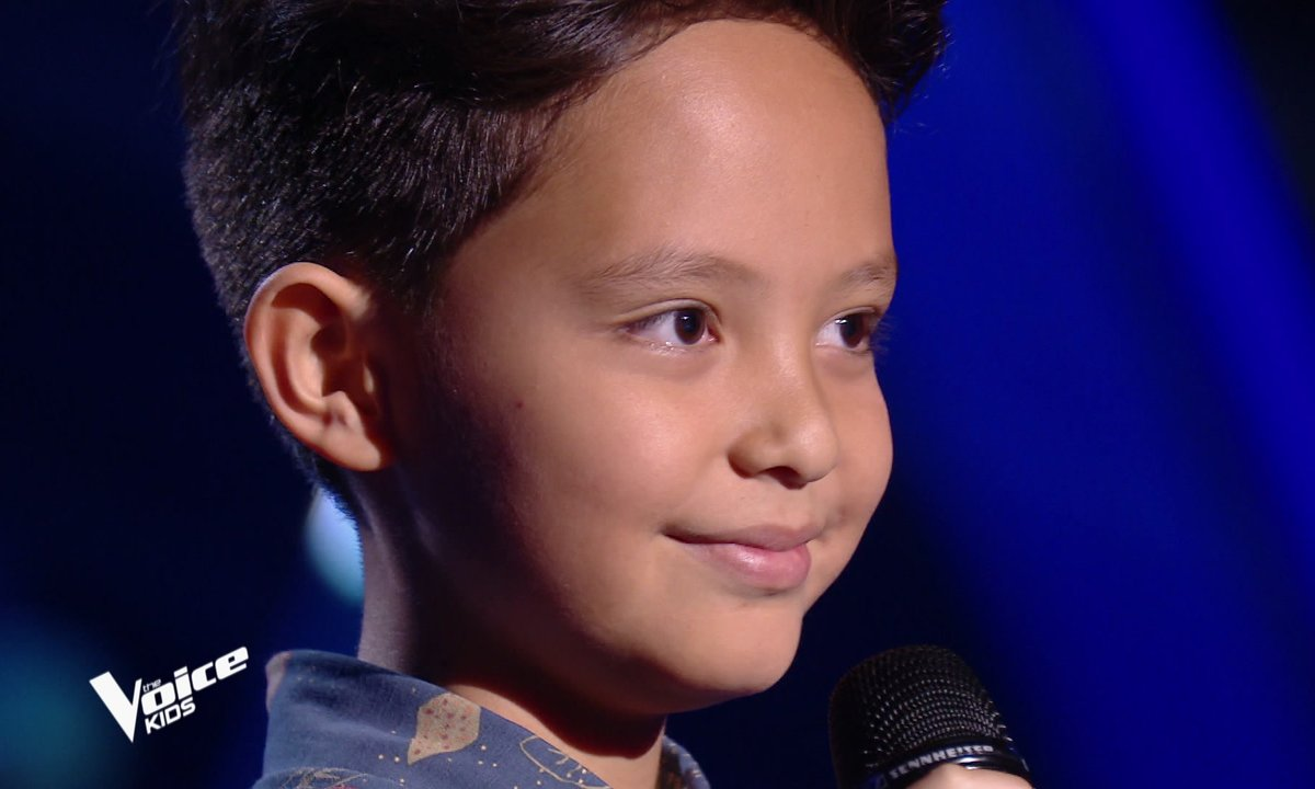 The Voice Kids - Natihei chante « L'amour existe encore » de Céline Dion