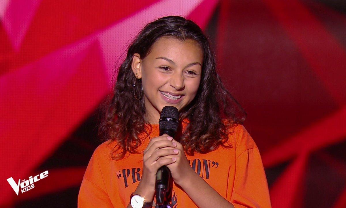 The Voice Kids - Océane chante « Natural Woman » d'Aretha Franklin