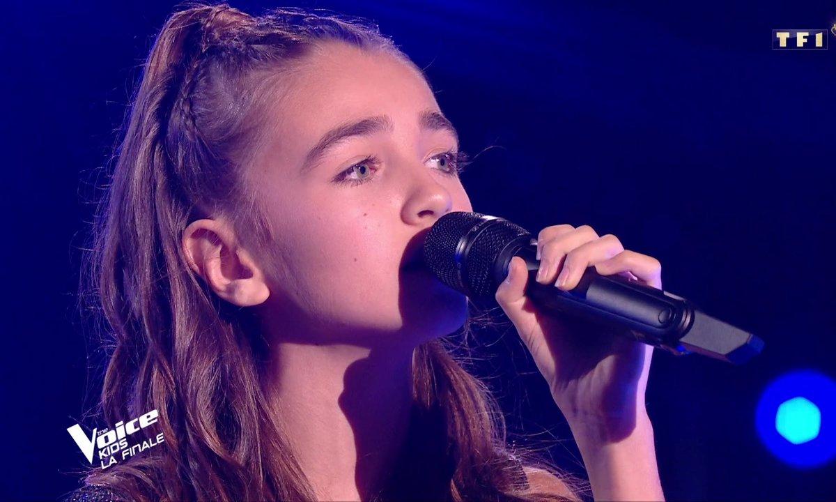 The Voice Kids : Patrick Fiori & Angelina chantent « Sur les épaules de mon père »