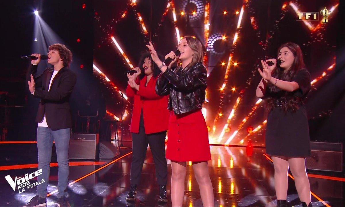 The Voice Kids : Les Petites Canailles chantent « J'attendrai »