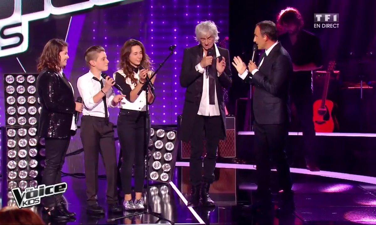 Les Talents et leur Coach Louis partagent un moment rock sur « Love me do »