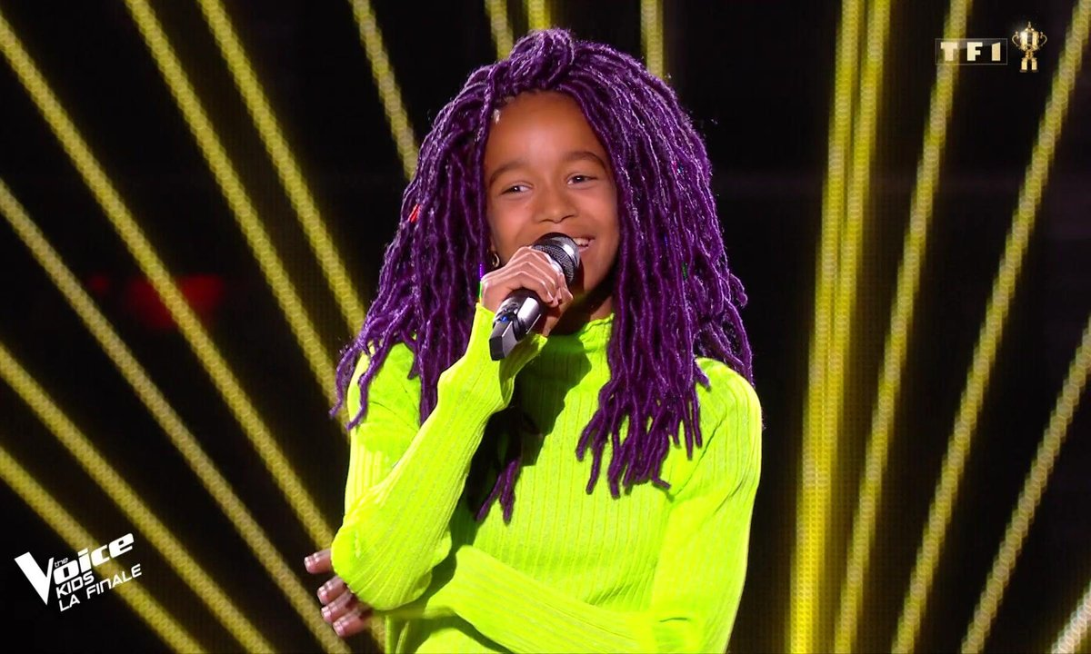 The Voice Kids : Talima chante « Happy » de Pharrell Williams (Team Soprano)