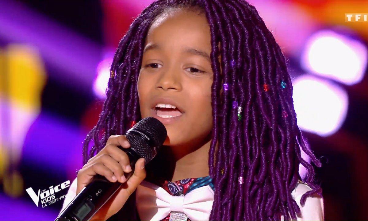The Voice Kids : Talima émeut Amel Bent avec sa reprise de « Papaoutai » de Stromae