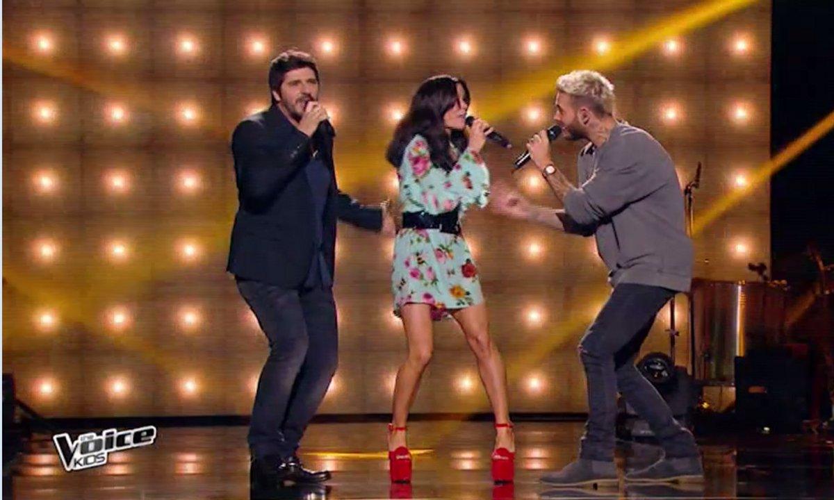 """The Voice Kids 4 : les coachs reprennent """"Uptown funk"""" de Bruno Mars"""