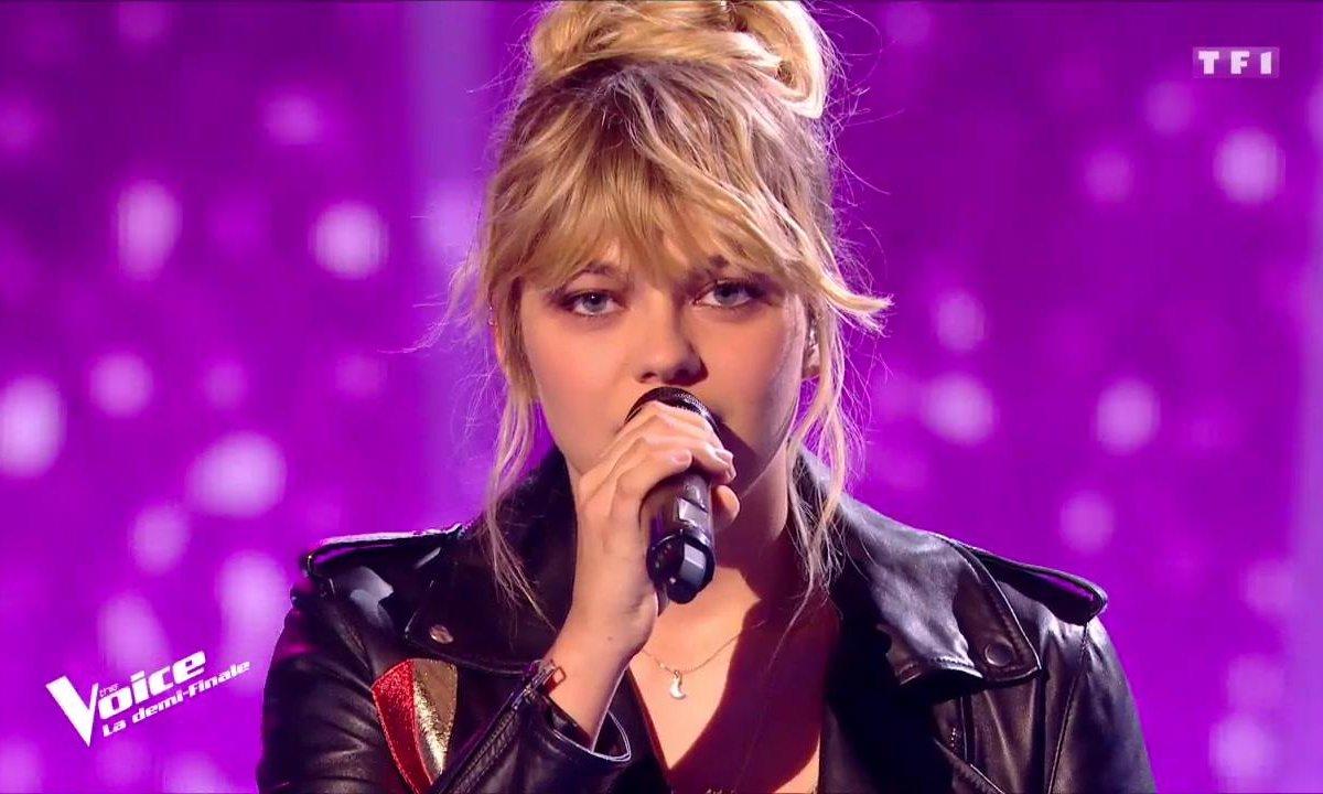 Louane Si T Etais La En Live Sur La Scene De The Voice The Voice Tf1