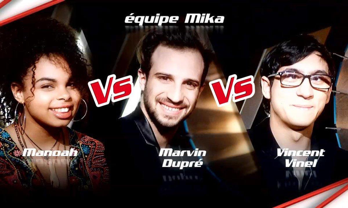 Manoah VS Marvin Dupré VS Vincent Vinel - Epreuve Ultime (Saison 6)