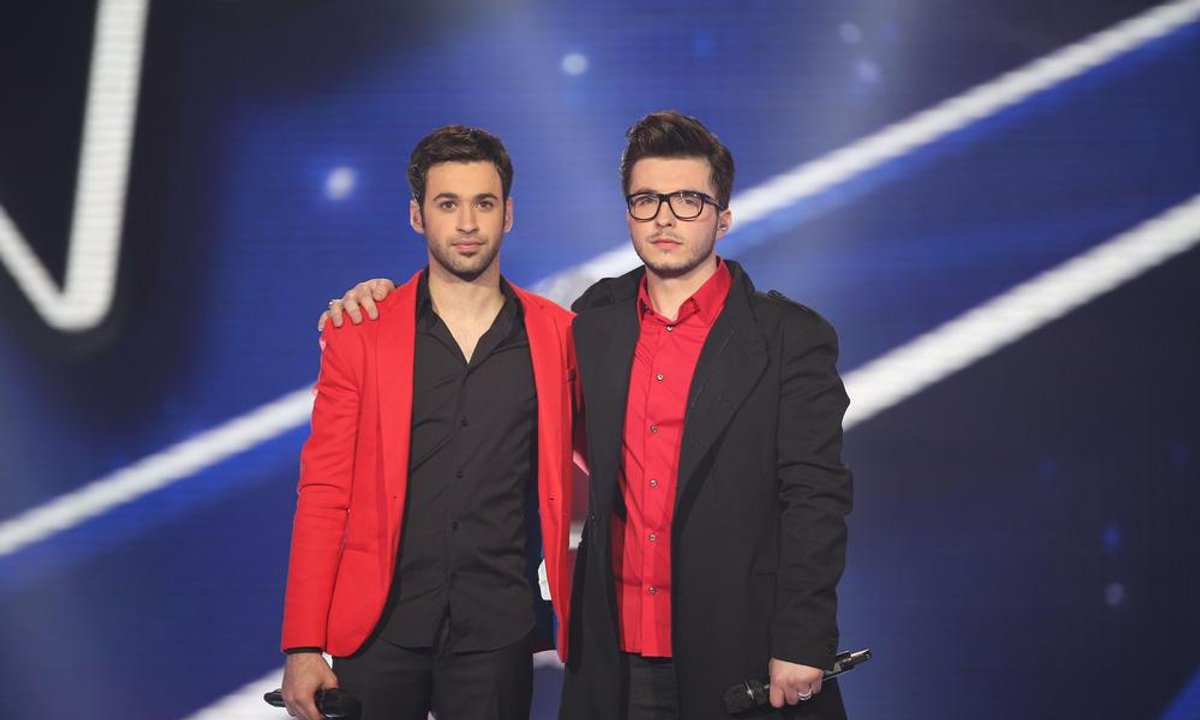 Olympe & Anthony Touma - Relax, Take It Easy (Mika) (saison 02)