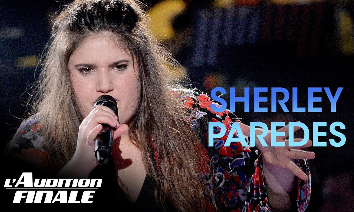 "Sherley Paredes - ""Ave Cesaria"" (Stromae)"
