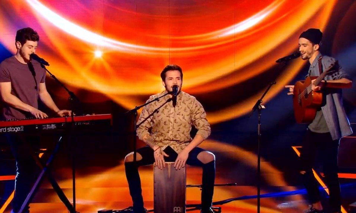 Le trio Arcadian réjouit public et coachs avec « Carmen » (Stromae) (Saison 05)