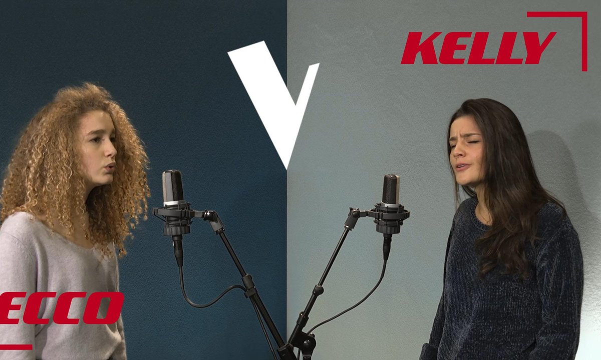La Vox des talents : Ecco vs Kelly | Beggin' | Madcon