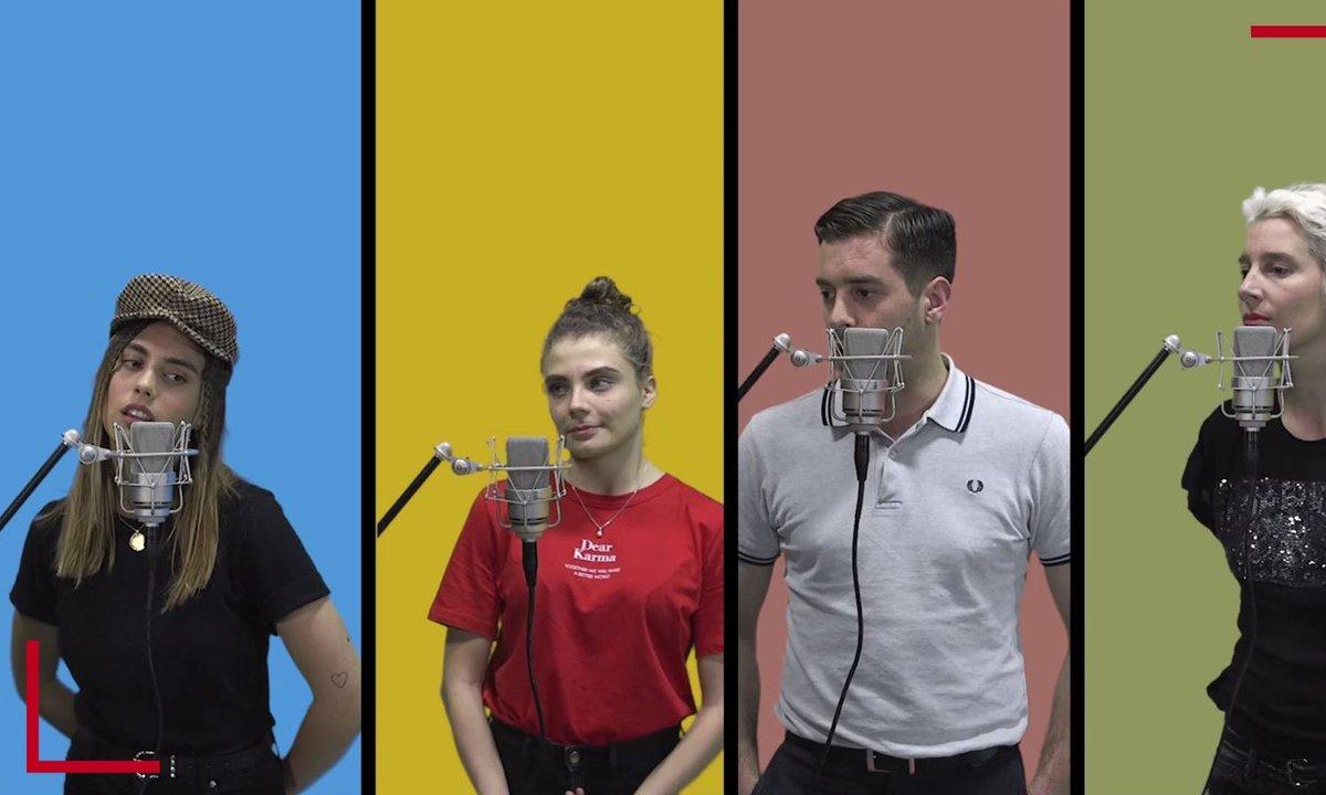 La Vox des talents :  J'envoie valser | Zazie | Demi-Mondaine, Maëlle, Liv del Estal, Edouard Edouard