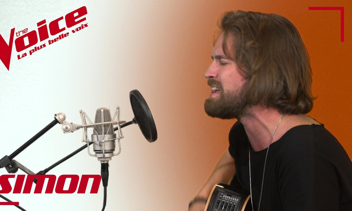 "La Vox des talents : Simon Morin - ""I don't wanna be"" (Gavin Degraw)"