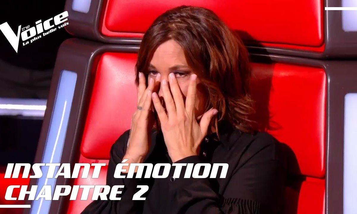 Zazie, très émue après la prestation de Maëlle et Gulaan
