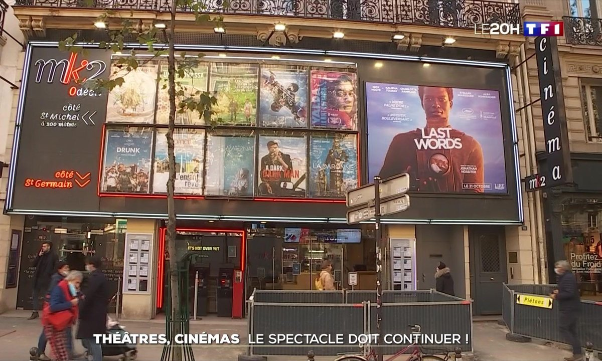 Théâtres, cinémas : le spectacle doit continuer malgré le couvre-feu