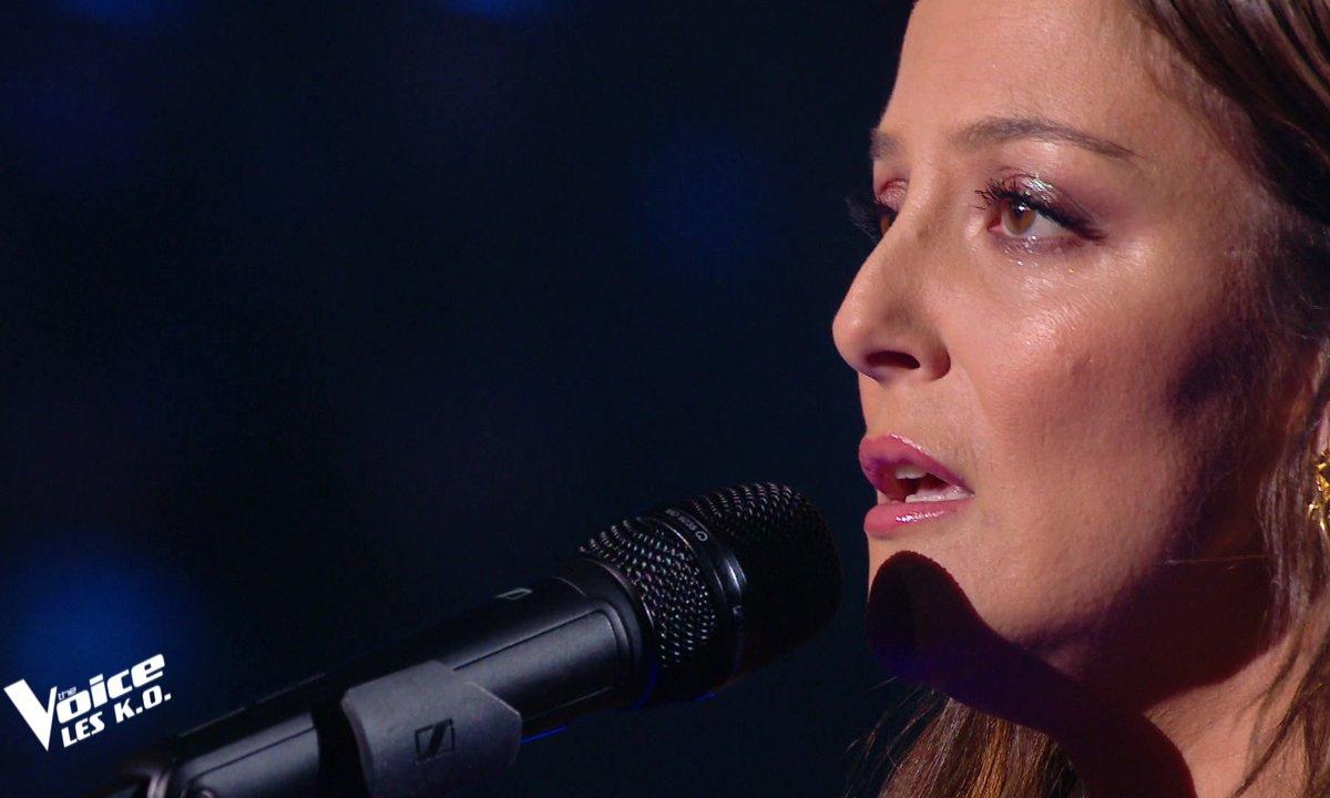 """The Voice 2021 - Camille Lellouche chante """"N'insiste pas"""""""