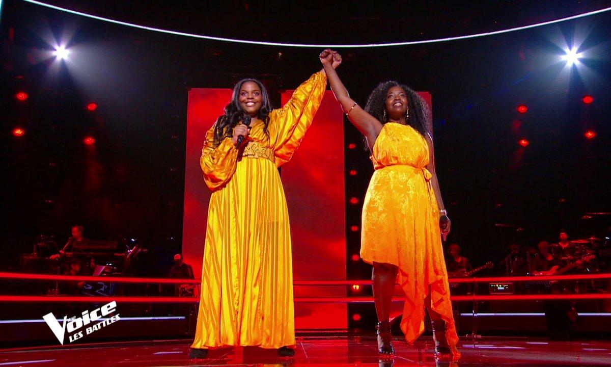 "The Voice 2021 – Mentissa VS Stellia Koumba chantent ""Freedom"" de Beyoncé"