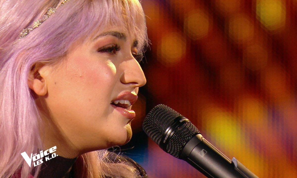 "The Voice 2021 – Niki Black chante ""L'hymne à l'amour"" d'Edith Piaf (KO)"
