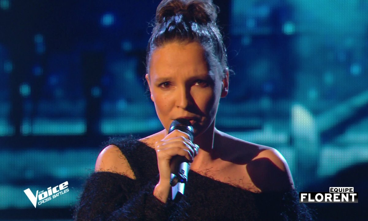 """The Voice All Stars – Anne Sila chante """"Writing's on the wall"""" de Sam Smith (Cross Battles)"""