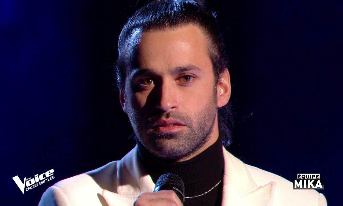 """The Voice All Stars – Anthony Touma chante """"Si seulement je pouvais lui manquer"""" de Calogero (Cross Battles)"""