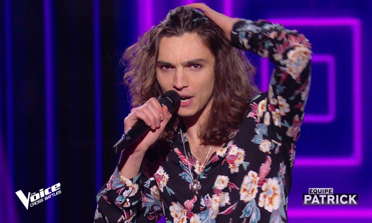 """The Voice All Stars – Antoine chante """"Machistador"""" de M (Cross Battles)"""