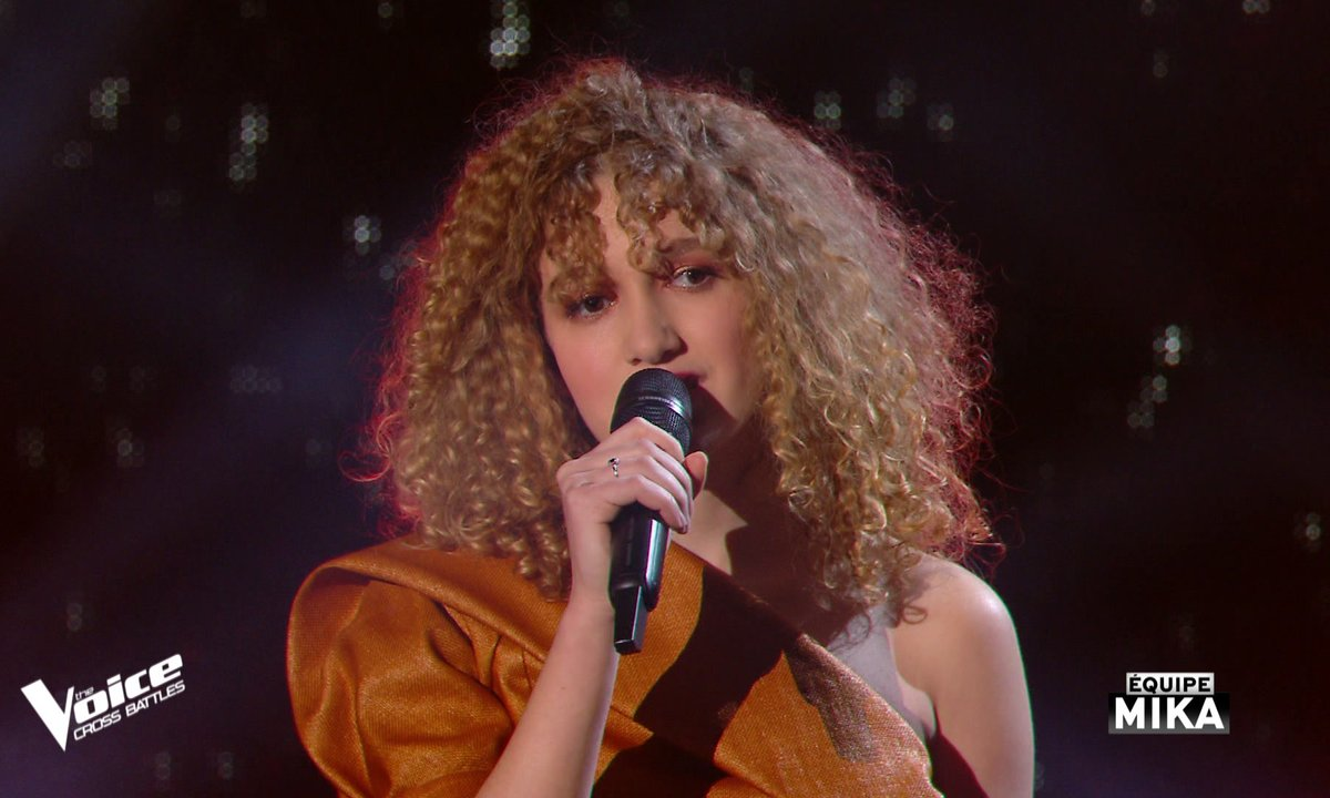 "The Voice All Stars – Ecco chante ""It must have been love"" de Roxette (Cross Battles)"