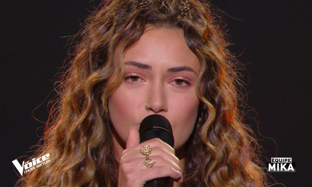"""The Voice All Stars – Victoria Adamo chante """"Comme d'habitude"""" de Claude François (Cross Battles)"""