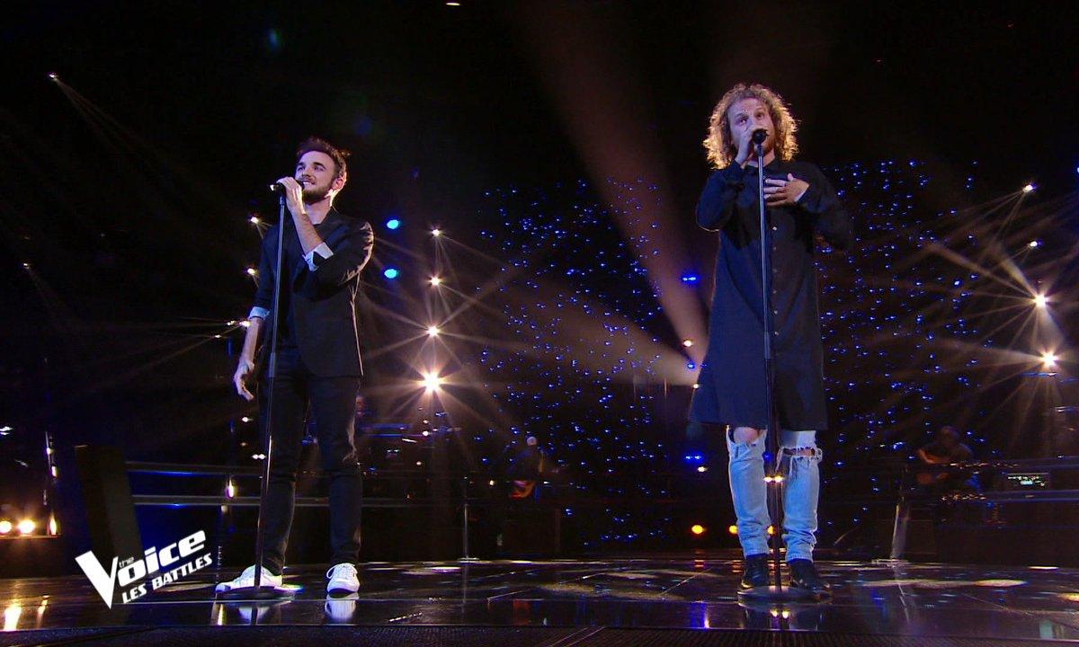 "The Voice 2021 - Yannick Schlesser VS Silvio Ilardo chantent ""Amsterdam"" de Jacques Brel"