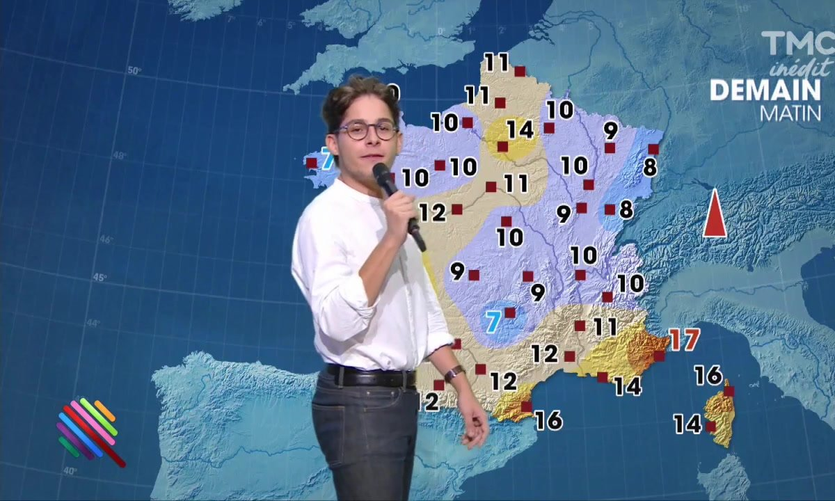 La météo du 22 septembre