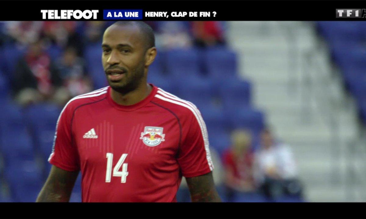 A la Une : Thierry Henry, clap de fin ?