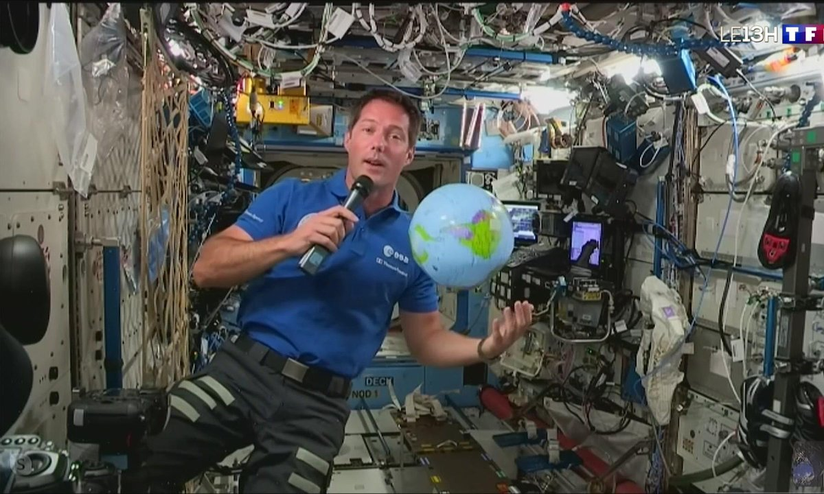 Thomas Pesquet à bord de l'ISS : ses premières impressions