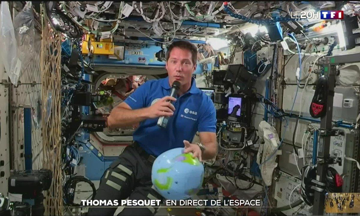 Thomas Pesquet raconte sa première semaine à bord de l'ISS