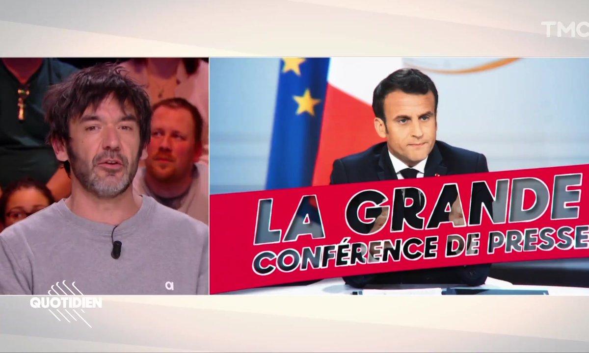 Thomas VDB explique l'actu : la conférence de presse de Macron