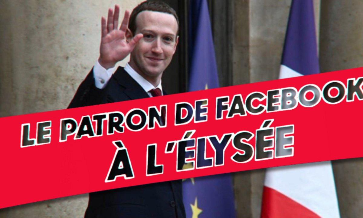 Thomas VDB explique l'actu : la visite de Mark Zuckerberg chez Macron