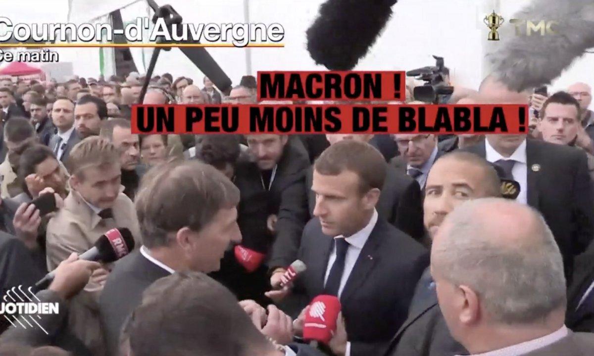 Y a-t-il un problème avec la parole officielle ? On a posé la question à Emmanuel Macron