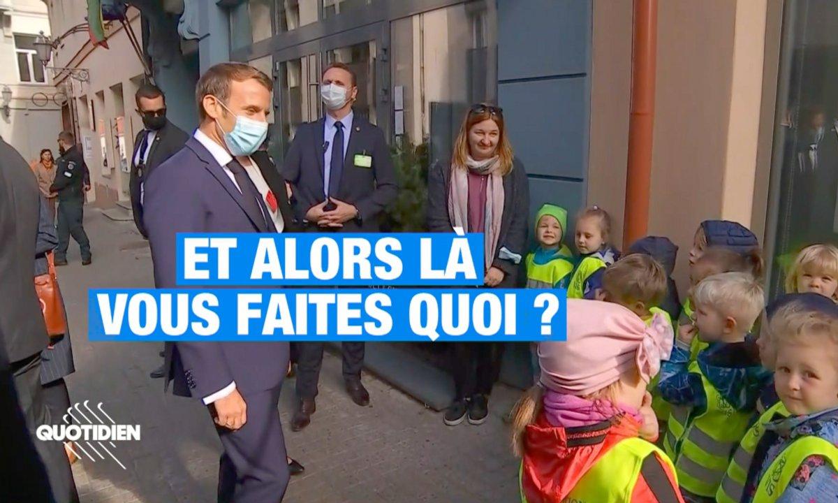 Profession Président: on pense qu'Emmanuel Macron a quelque chose contre les Lituaniens