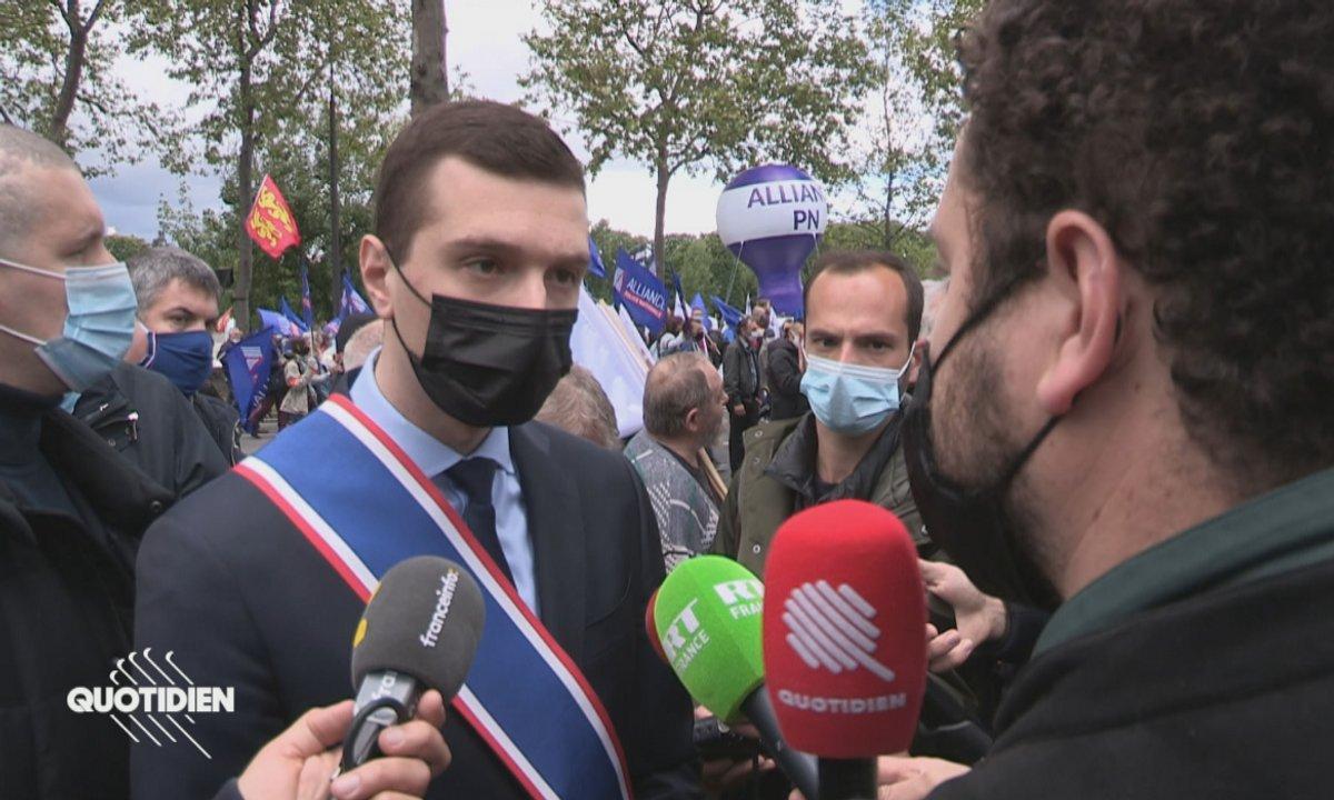 Manifestation des policiers : une mobilisation très politique