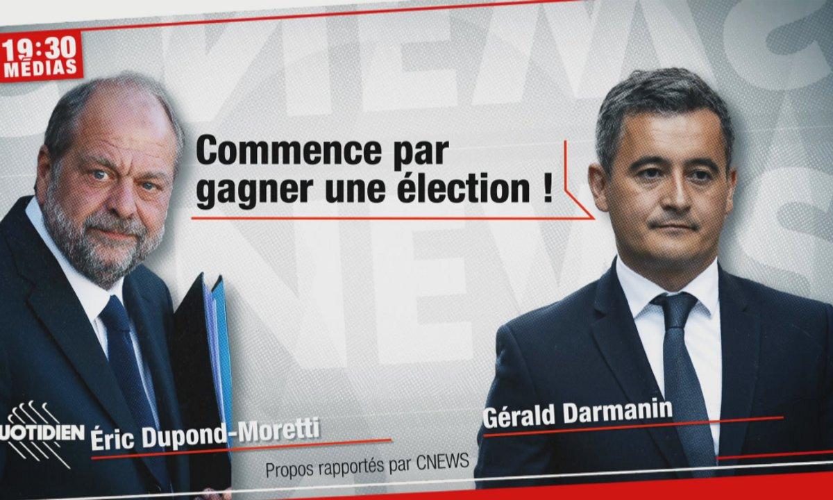 Le clash Gérald Darmanin vs Eric Dupond-Moretti