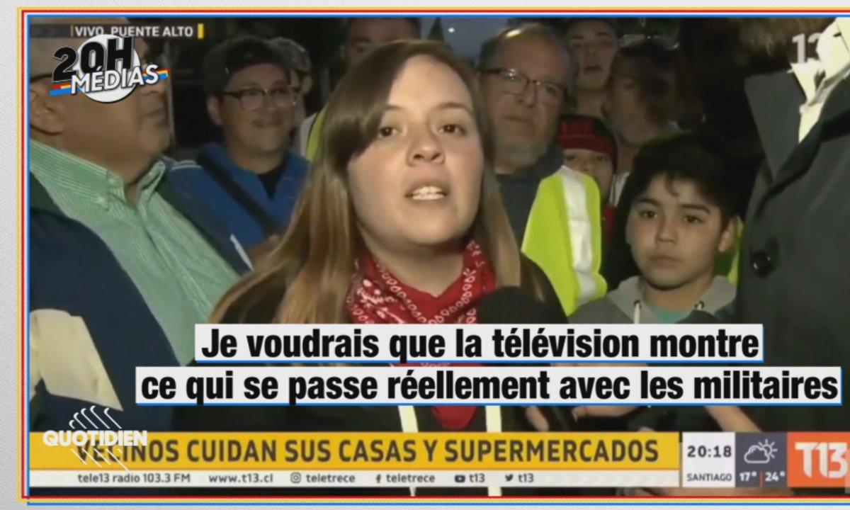 20h Médias : révolte sociale sans précédent au Chili