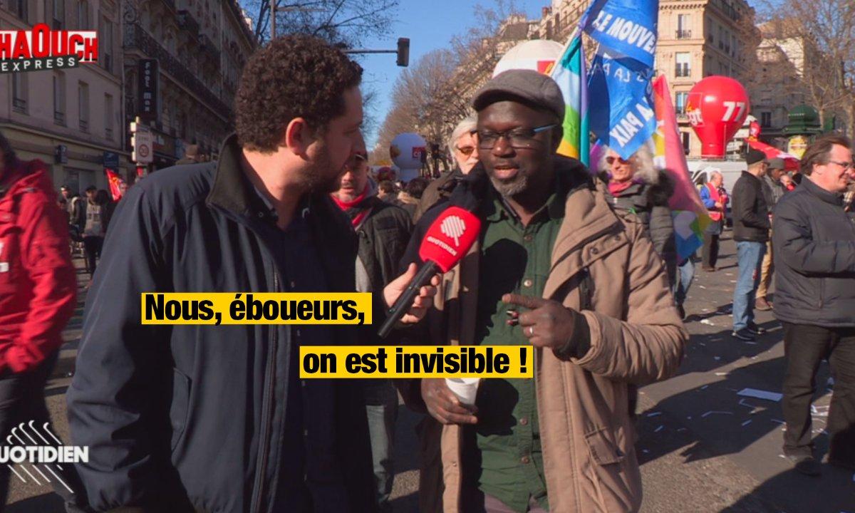 Chaouch Express : de Paris et à Marseille, les éboueurs en colère